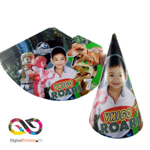 personalized cone hat