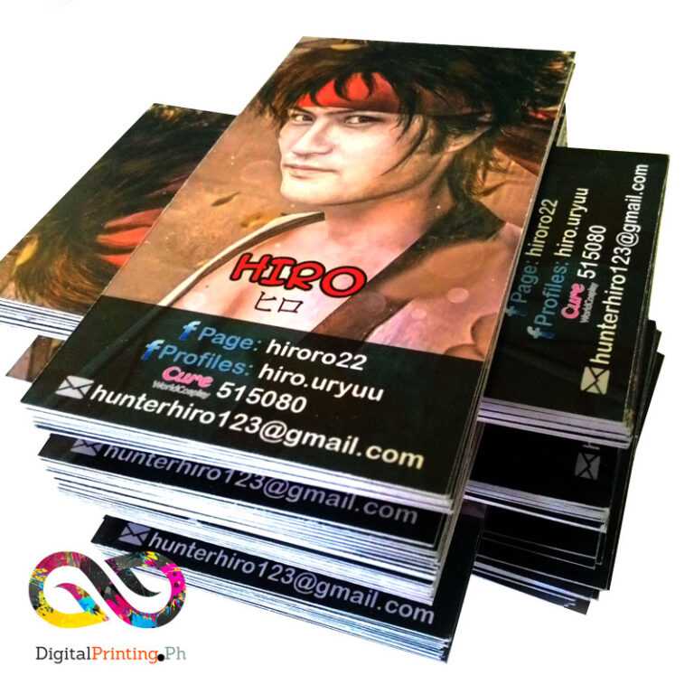 glossy business card printing