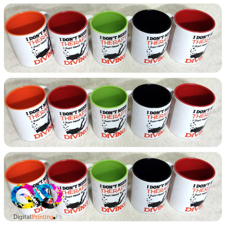 inner colored mug printing