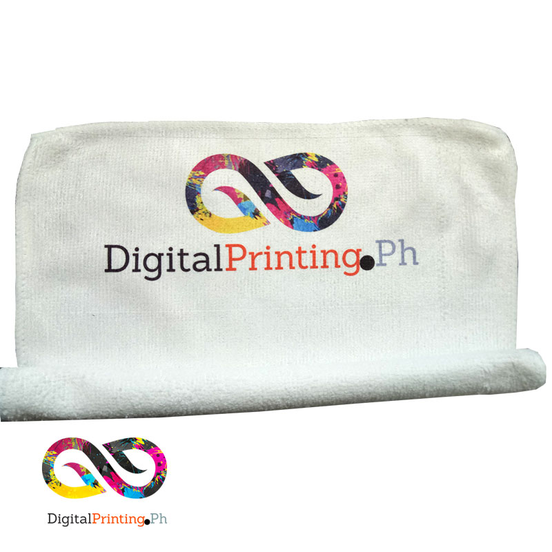 Personalized face towel no minimum order philippines for Custom embroidered polo shirts no minimum order