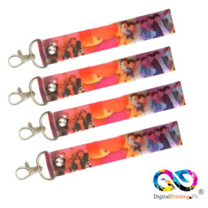 pvc hand strap with full color print