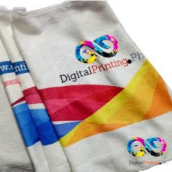 hand towel printing