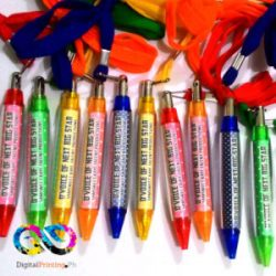 ballpens with string