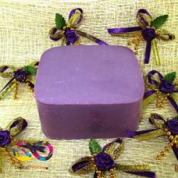 mulberry licorice carrot soap